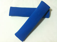 Car Seat Belt Blue Cover Cushion Shoulder Harness Pads Auto Vehicle Padded
