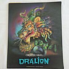 Cirque Du Soleil Souvenir Program with Ticket Stub from Del Mar Fairgrounds 02