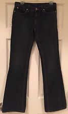 "Juicy Couture Jeans Pants Denim Cotton Flare Inseam 34"" Gray 27"