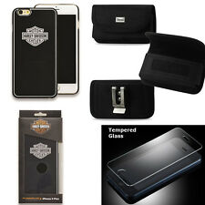 Harley Davidson 7793 Hard Shell Cover for iPhone 6s with Glass SP, Nylon Case