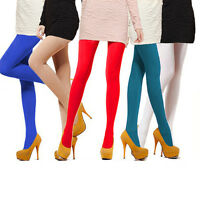 Fashion Women's Semi Opaque Tights Pantyhose Colors Stockings