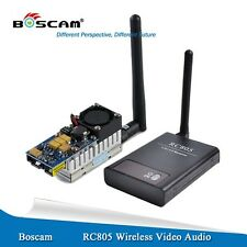 Boscam FPV 5.8Ghz 2W 2000mW (*range 10km) Wireless AV Transmitter Receiver combo