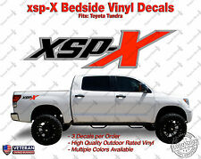 XSPX Package Vinyl Decal Truck Bedside Fits: Toyota Tundra (Set of 3)