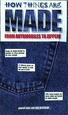 How Things Are Made: From Automobiles to Zippers, Rose, Sharon, Good Condition,