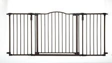 Baby Pet Metal Security Extra Wide Gate Safety Proofing Walk Thru Child Proof