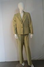 Light Beige Women's Suit Evan Picone Size 14P 2PC New With Tags Durable