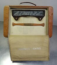Antikes seltenes Radio Röhren Kofferradio Lembeck Kamerad ~ 50er - defekt -