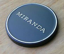 genuine  Miranda front push on 57mm  lens cap , over 55mm filters