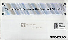 Volvo 1981 Model Year UK Market Mailer Sales Brochure 343 345 244 245 264 265