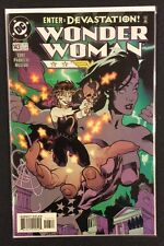 WONDER WOMAN #143 Comic Book ADAM HUGHES Cover Cronus DC 1999 VF-NM Beautiful!
