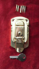 Case Latch/Latches-Gold Flat Bolt Lock for Vintage Martin & USA Acoustic Guitars