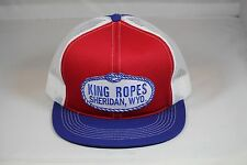 KING ROPES Hat Mesh Trucker Hat - Red White and Blue Lowest Price