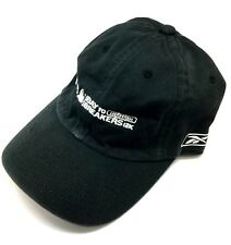 Reebok ING Bay to Breakers 12K Run Jog Dad Slouch Hat Cap Adjustable Fit Black