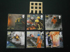2009 GB STAMPS-FIRE AND RESCUE SERVICE-FINE USED