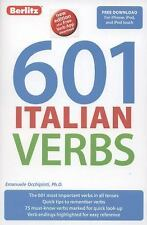 601 Italian Verbs (601 Verbs) (Italian Edition), Berlitz Publishing, New Books