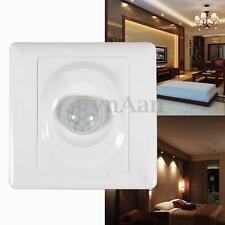 Infrared IR Motion Sensor Auto Ceiling Wall Mount Control Led Lamps Light Switch