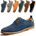 Fashion Mens Suede European Style Leather Shoes Cozy oxfords Casual shoes Flats
