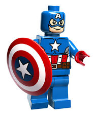 Captain America Lego Wall Sticker Decal Easy Reuse / Remove