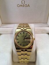 Authentic 1970's Vintage 18K GOLD OMEGA CONSTELLATION AUTOMATIC CHRONOMETER