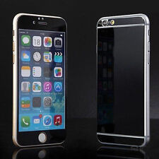 Effect Mirror Front&Back Sticker Skin Glass Screen Protector For iphone4 5 6 7