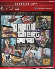 Grand Theft Auto IV: Episodes from Liberty City (Greatest Hits)  (PS3) *Sealed*