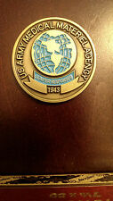 A26 US Army Medical Materiel Agency Health Care Challenge Coin