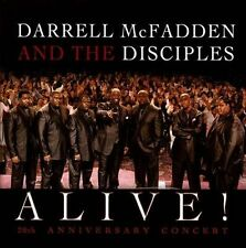 MCFADDEN,DARRELL & DISCIPLES-ALIVE: 20TH ANNIVERSARY CONCERT (W/DVD) CD NEW