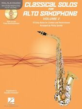 Classical Solos for Alto Saxophone Vol. 2 15 Easy Solos for Contest an 000121140