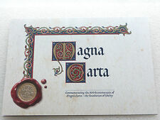 2015 Royal Mint Magna Carta 800th Anniversary BU £2 Two Pound Coin Folder