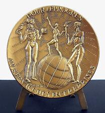 Médaille Le Rocher de Monaco Monte-Carlo Muses de l'art Tony Szirmaï c1910 medal