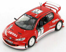 Peugeot 206 WRC  Gronholm - Rautiainen Winner New Zealand 2003 1:43