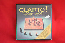 Quarto Magnetic Board Game 1991 Gigamic Wooden Complete Strategy
