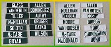 ONE (1) - Green Bay Packers Jersey Name Plate - YOU PICK