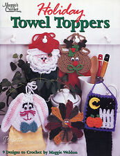Holiday Towel Toppers ~ Santa Turkey Bunny & More, Maggie's Crochet patterns