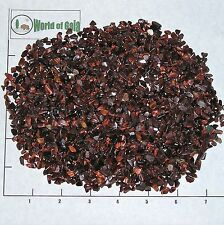 TIGEREYE, RED, 4-10 mm tumbled, 1/2 lb bulk xmini stones Tiger Eye