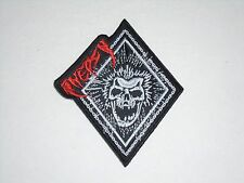 INEPSY TOXIC METAL PUNK EMBROIDERED PATCH