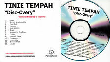 TINIE TEMPAH Disc-Overy UK 13-trk numbered/watermarked promo test CD