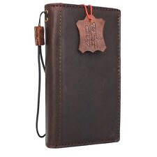 genuine vintage natural leather Case for Htc One m10 book wallet premium cover