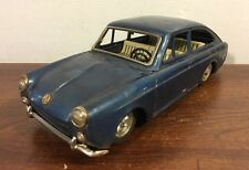 Vintage Bandai Vw 1600 TL Fastback Tin Friction Toy Japan Rare HTF Volkswagen