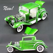 ACME A1805011 - 1932 FORD GRAND NATIONAL DEUCE SERIES #6 GREEN DIECAST 1:18 NEW!