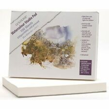 Premium Artists Studio A4+ Watercolour Acrylic Charcoal Ink Paper Pad 100 Sheets