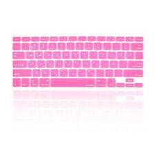 "Arabic / English HOT PINK Silicone Keyboard Cover  for Macbook Pro 13"" 15"" 17"""