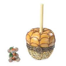 Boyds Bears Halloween Carmel Apple Treasure Box w/Jack McNibble ~ 4041877