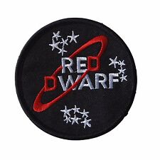 Red Dwarf Logo Embroidered Patch
