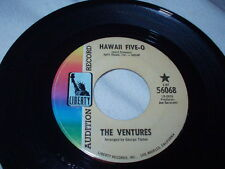 THE VENTURES Hawaii Five-O 45 Promo Liberty Surf Guitar Soul Breeze Sixties