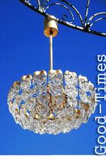 70er Jahre Kristall  Leuchte Lampe    Original  Hängelampe Kinkeldey 70s