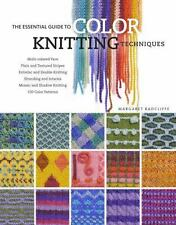 The Essential Guide to Color Knitting Techniques-ExLibrary