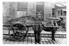 pt1092 - Chimney Sweep Andrew Lord , Burnley , Lancashire - photo 6x4