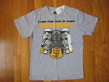 Star Wars Halloween boy Lack Candy Disturbing T SHIRT Darth Vader Stormtrooper M