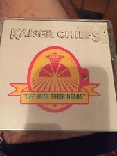 KAISER CHIEFS - OFF WITH THEIR HEADS CD, GREAT VALUE